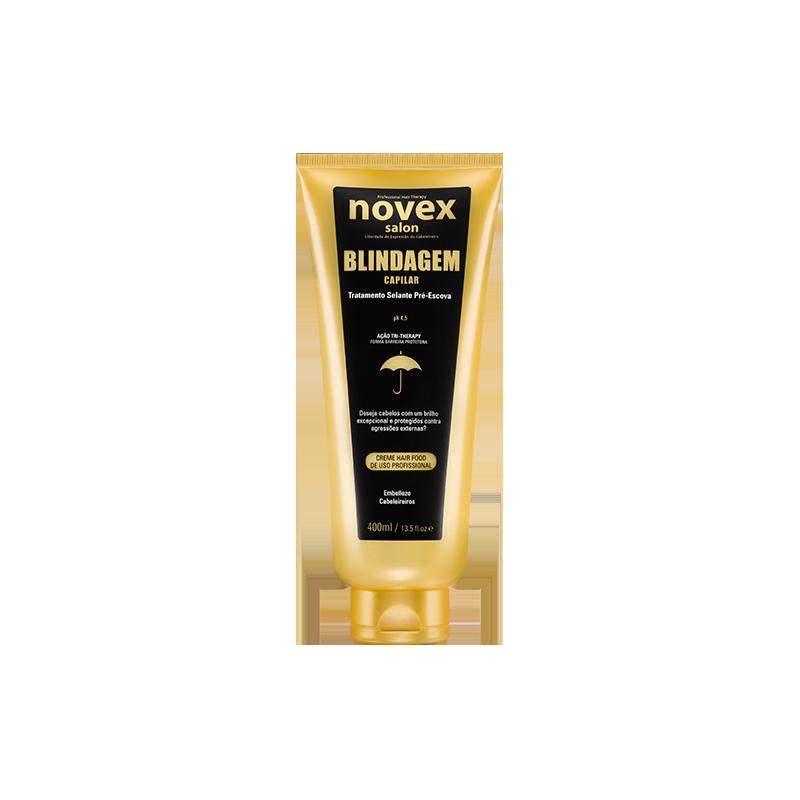 Novex Gold Salon Blindaje Capilar con keratina - SALON CAPILLARY SHIELD LEAVE-IN TREAT. 400G