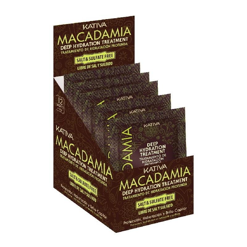 Tratamiento Intensivo Macadamia Kativa (12Ud X 35g)