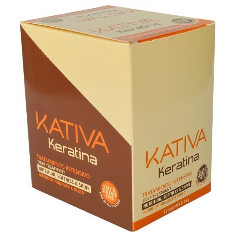 Tratamiento Intensivo Keratina Kativa (12Ud X 35g)