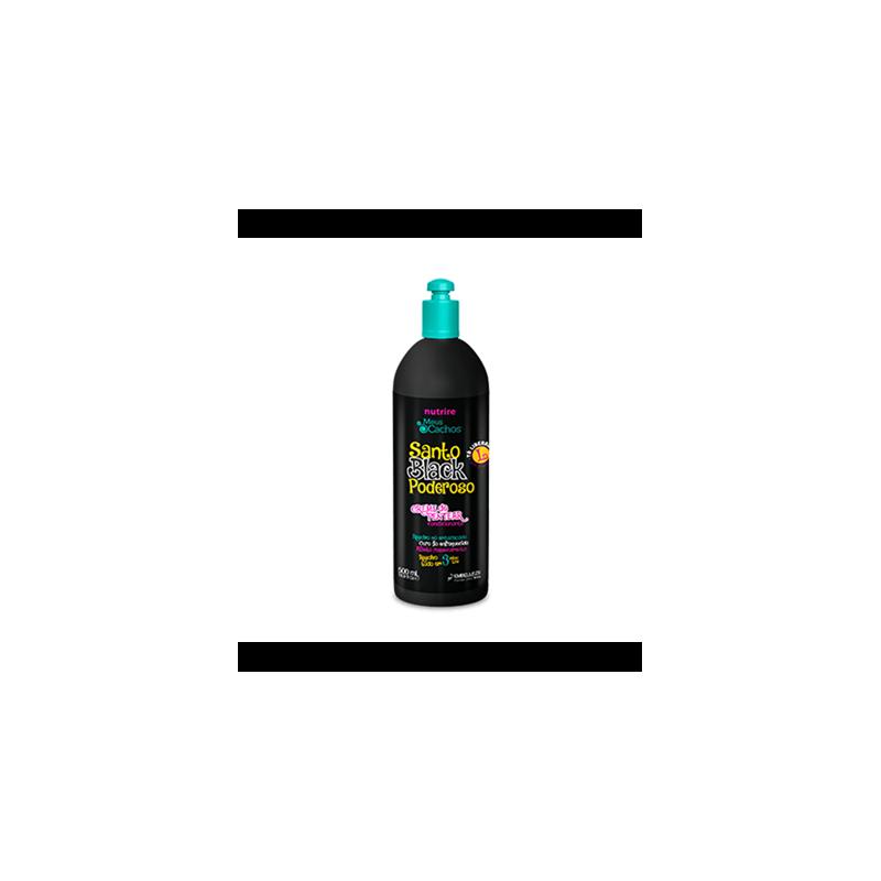 Novex Crema de Peinar Santo Black 500ml
