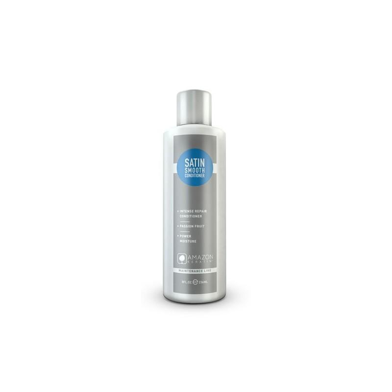 Amazon Keratin Acondicionador Satin efecto liso sin sal y sin sulfatos 250ml
