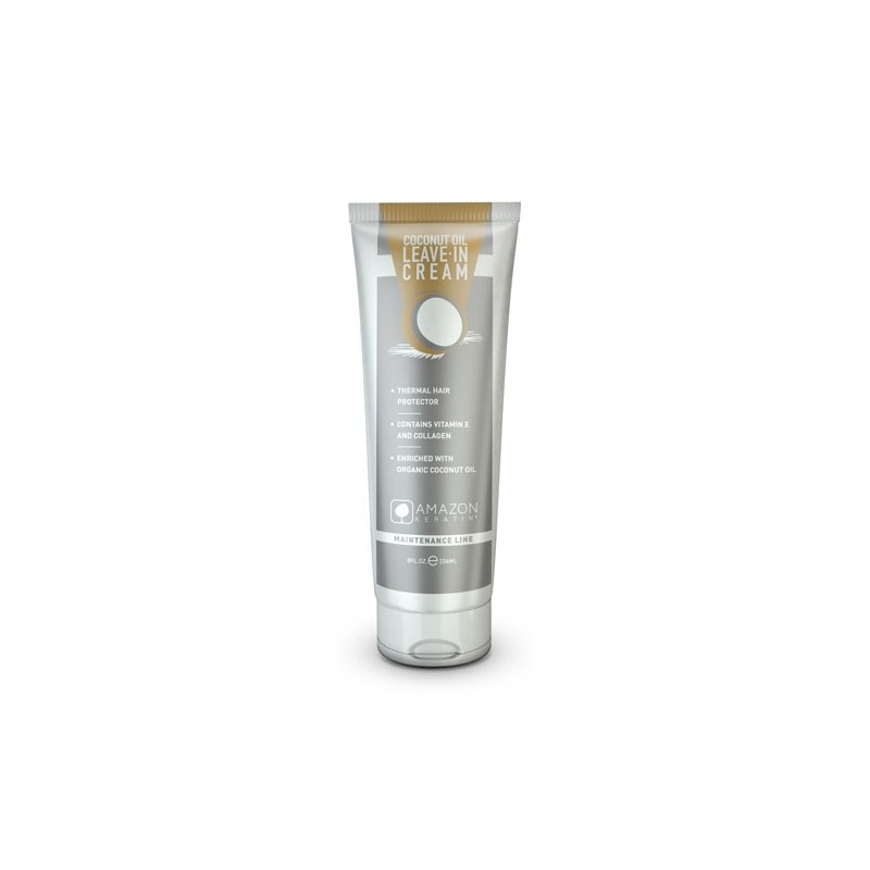 Amazon Keratin Crema de peinar Aceite de Coco 236ml