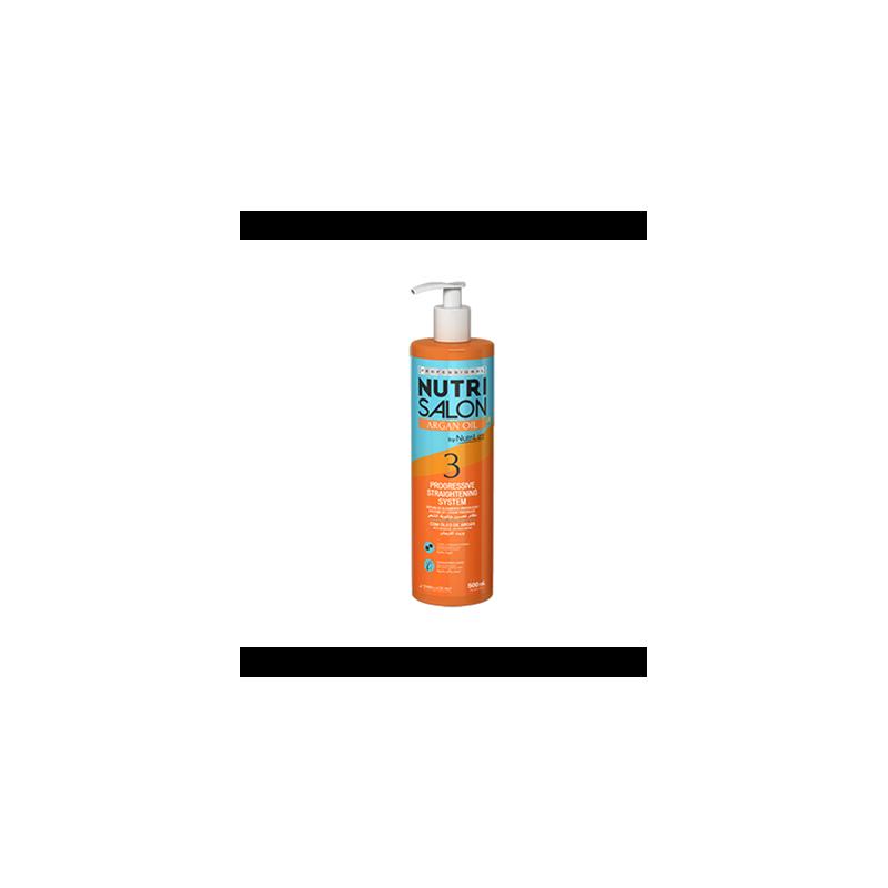 Nutri salon argan oil Progressive straightening system Embelleze (3) 500 ml