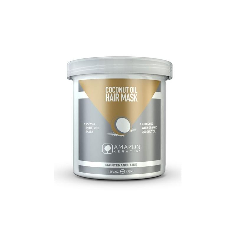 Amazon Keratin Mascarilla Aceite de Coco 473ml