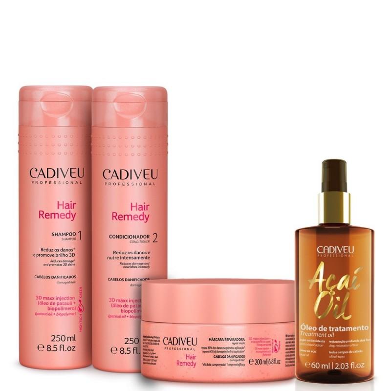 Kit Cadiveu Hair Remedy curación del pelo 760ml