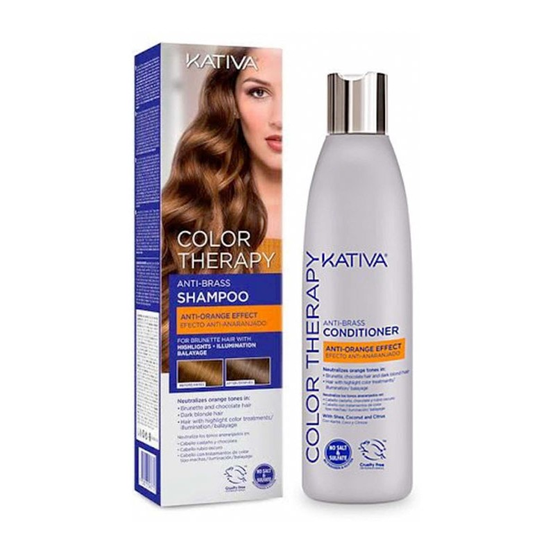 KATIVA BLUE VIOLET THERAPY CONDITIONER (MORENAS) 250ML