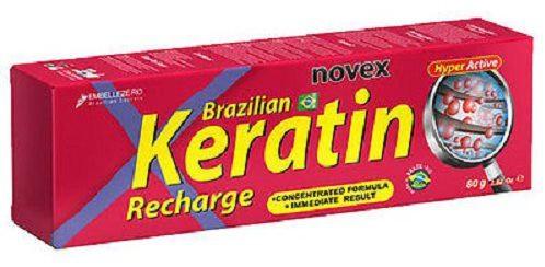 Recarga de Queratina Brasileña Novex 80g