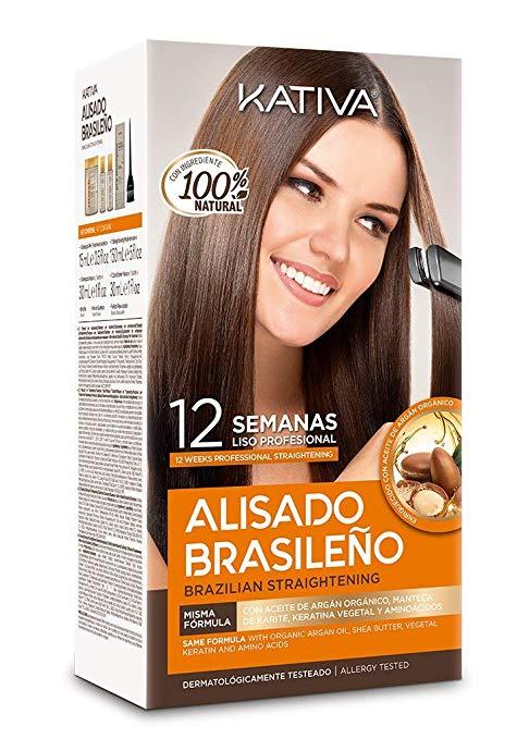 Alisado Brasileño Kativa - Kit tratamiento